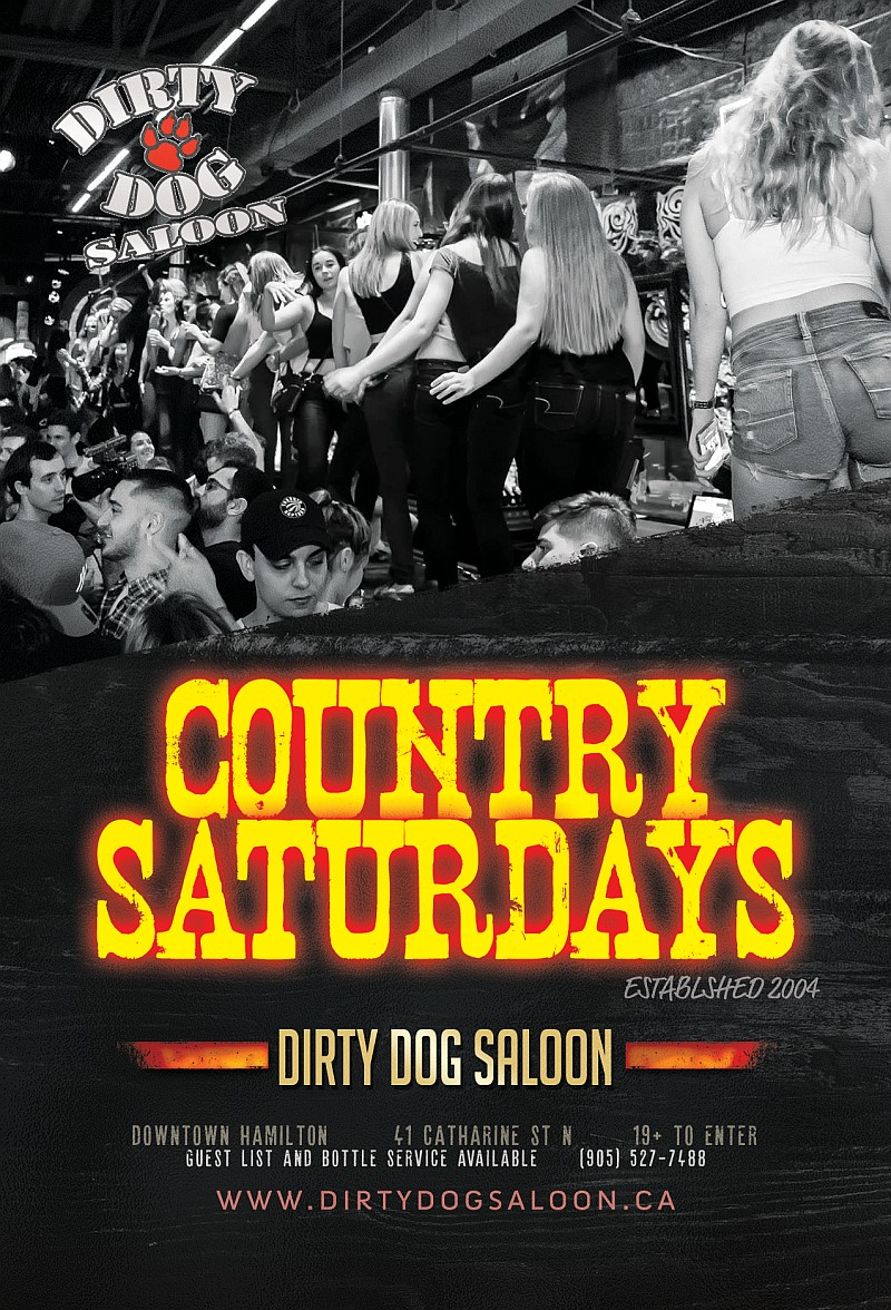Country Saturdays at Dirty Dog Saloon