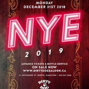 New Years Eve - December 31st at Dirty Dog Saloon