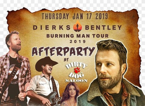 Dierks Bentley - Afterparty - Thursday January 17th, 2019 at Dirty Dog Saloon in Hamilton Ontario