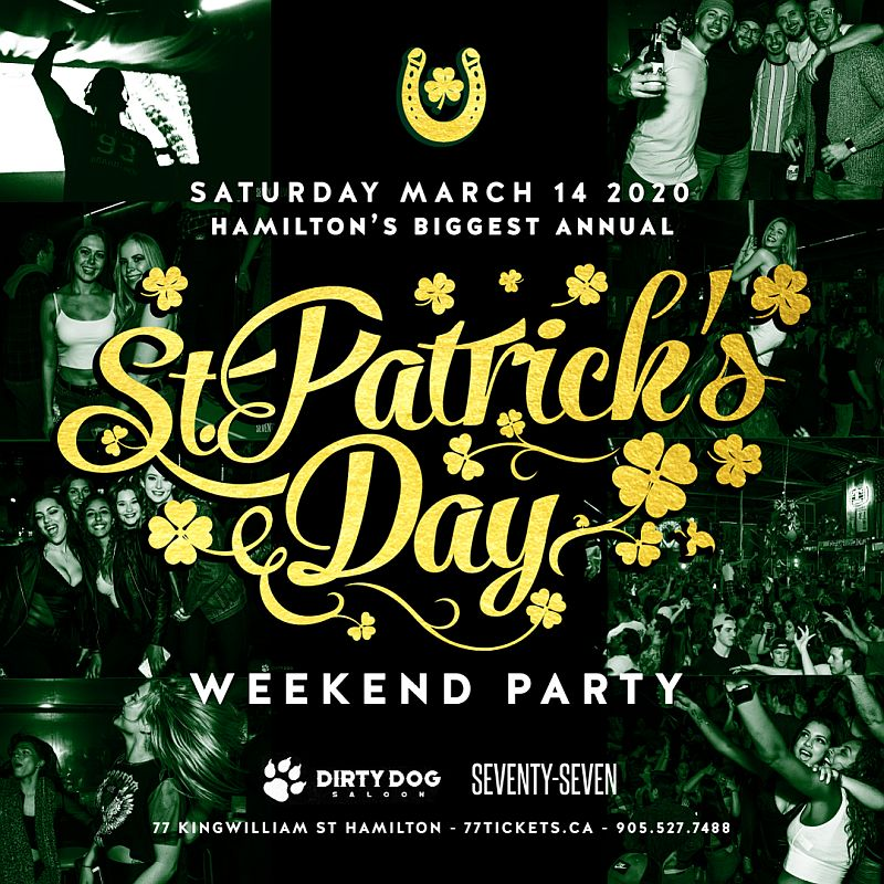 St Patrick's Day Party at Dirty Dog Saloon